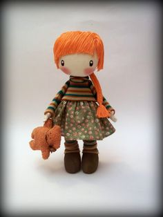 Doll Zooey by DollsLittleAngels on Etsy, $150.00
