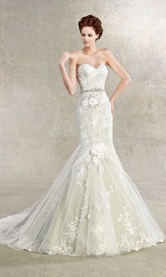 Kitty Chen 2013 Bridal Collection   My Dress Of The Week | bellethemagazine.com