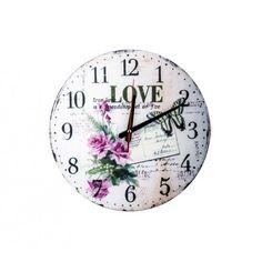 MDF Duvar Saati - Seni Seviyorum