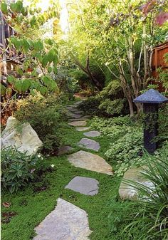 I love the natural look of this path