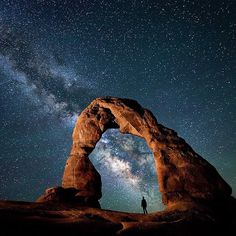 Delicate Arch - Arches National Park @travisburkephotography by nakedplanet