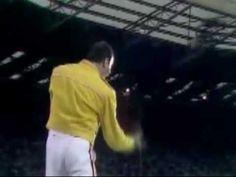 Queen Live at Wembley '86 Vocal Improvisation.
