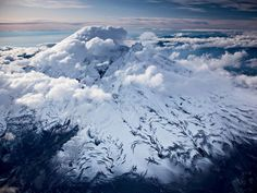 Iliamna Volcano in Alaska
