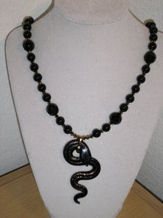 The Snake Charmer/Genuine swarovski by CreationsbyMaryEllen, $17.89