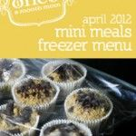 I love it!....Cook 5 Recipes x2 =10 meals for the freezer each month! (2 sets of these come out each month from this OAMM website!) Includes freezing instructions, shopping lists and is adjustable to your family size! Jackpot!!