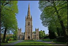 St Malachy's Church, Hillsborough, County Down (1772)-The Parish Church of St Malachy was built in 1636 and restored in the 18th century by Wills Hill, the first Marquis of Downshire.