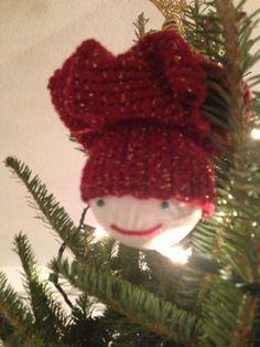 Jan's Crochet Ornaments - Chef