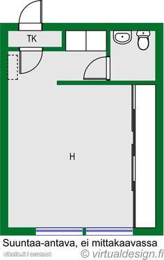 17m² Käenkuja 4, 00530 Helsinki Muu yksiö myynnissä | Oikotie 13593276 Helsinki, Monet, Bar Chart, Floor Plans, Diagram, Bar Graphs, Floor Plan Drawing, House Floor Plans