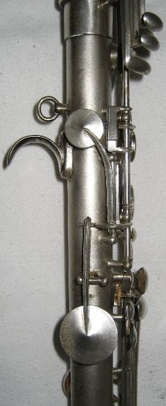 Metal bass clarinet - detail (K. Wunderlich)