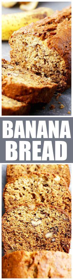 Bread, Rolls, Loaves & More on Pinterest | Banana Bread, Quick Bread ...