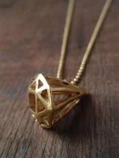 Diamond I Necklace