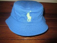 ed064265908 NEW POLO RALPH LAUREN BABY BOY BUCKET HAT BIG PONY 9 - 24 MONTHS   PoloRalphLauren