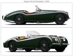 JAGUAR XK 120 - 1950