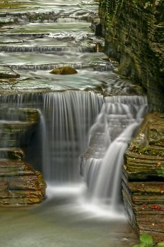 ✯ Buttermilk Falls State Park, Ithaca, NY