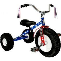 Apple Pie Dirt King USA Patriot Tricycle