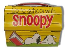 Snoopy Lunch Box -game room flair