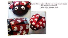 Katica párna (Ladybug pillow)