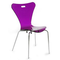 ANTZ- Strackable chair with four-legged Acrylic Chair, Four Legged, Chairs, Furniture, Home Decor, Decoration Home, Room Decor, Home Furnishings, Stool