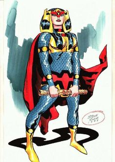 Barda by Steve Rude in the style of Jack Kirby