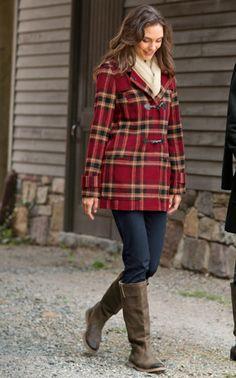 J. Jill - Love the jacket!! I am such a sucker for plaid.