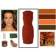 """Warm Autumn Outfit #1"" by yourbestcolors on Polyvore"