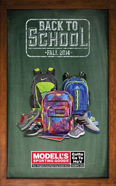 Modell's Back To School Direct Mailer on Behance