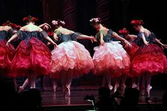 Waltz of the Flowers from The Nutcracker, Maine State Ballet. Photo by klickthis on Flickr.