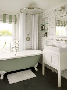 35 ways to use sage green on domino.com  Lovely selection here and as we are talking sage it is also very mellow:)
