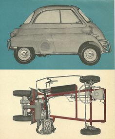 BMW Isetta by Hugo90, via Flickr