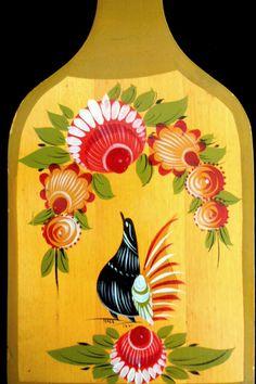 Gorodets Russian Folk Art Painting