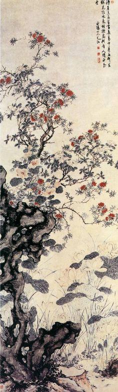 Chén Chún(陳淳) , 溽暑花卉