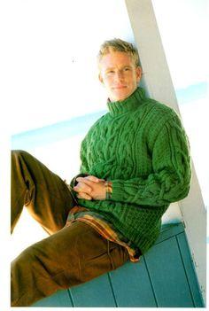 Pull irlandais (modèle homme) - Tricot Addicts