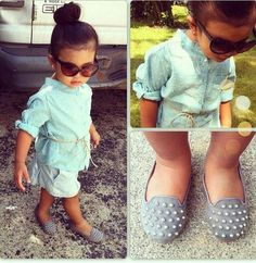 wow. fashion  baby girl