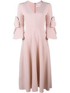 ROKSANDA Sibella Bow Embellished Dress. #roksanda #cloth #dress