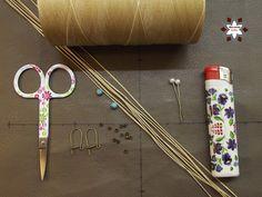 Macrame knotting tutorial
