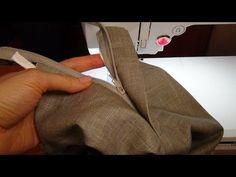 Как сшить брюки: застёжка - YouTube