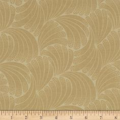"""Downton Abbey Lady Edith Leaf Tonal Tan from @fabricdotcom  Licensed by Carnival Film & Television Ltd. to Andover Fabrics, this cotton print fabric is inspired by the TV series, """"Downton Abbey."""" It is perfect for quilting, apparel, crafts, and home decor items."""