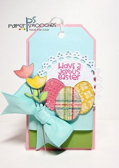 Bright & Colorful Easter Tag...