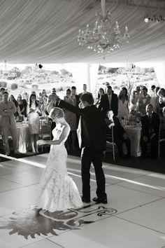 Bride and Groom's First Dance- Donna Von Brueining Photography #wedding #photography