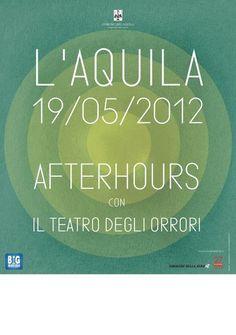 Pierpaolo Capovilla per L'Aquila 19.05.2012