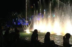 Night time in Tbilisi 💛💚💛
