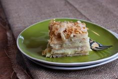 Napoleon cake (This recipe uses store-bought puff pastry to speed things up.)