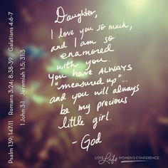 Love notes from God.