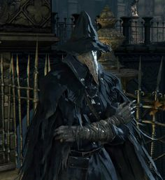 Eileen the Crow from Bloodborne