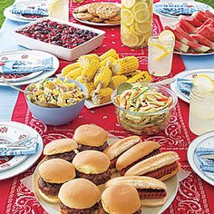 WATCH: All You Is Now a Part of Southern Living Summer cookout recipes Enjoy the outdoors by throwing a backyard party with these affordable barbecue recipes. Best Barbecue Sauce, Homemade Barbecue Sauce, Barbecue Recipes, Barbecue Burgers, Cookout Menu, Backyard Cookout, Barbacoa, North Carolina Barbecue Recipe, Birthday Cookout
