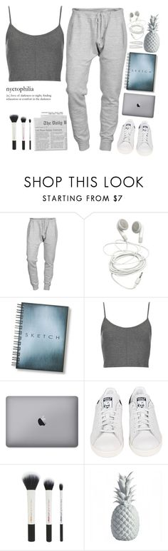 """white lips pale face, breathing in snowflakes."" by escap3-from-reality ❤ liked on Polyvore featuring Dsquared2, Topshop, adidas and Forever 21"