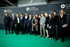Cast & Crew of WOLKENBRUCH Green Carpet, Filmmaking, It Cast, Actors, Dresses, Fashion, Movie, Green Mat, Cinema