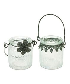 Look at this Round Hanging Candleholder Set on #zulily today!