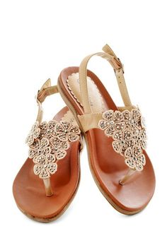 Flora Fascination Sandal, #ModCloth