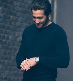 Jake Gyllenhaal for Santos de Cartier (2018)
